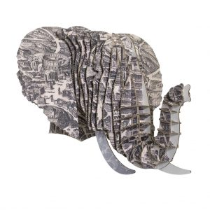 Elefante Mapa de Roma