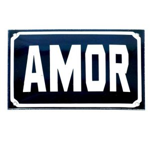 Placa Amor