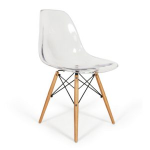 Silla Eames - DSW Transparente