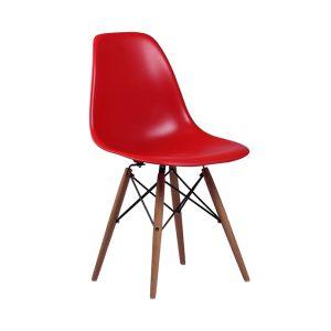 Silla Eames - DSW Roja