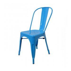 Silla Tolix A Azul