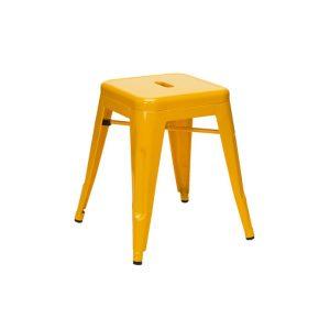 Taburete Tolix Amarillo - 45 cm