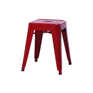 Taburete Tolix Rojo - 45 cm