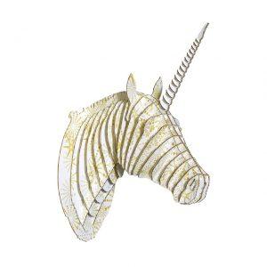 Unicornio Estrellas Amarillas